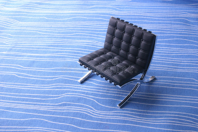 Designer Chair - Leather stock image