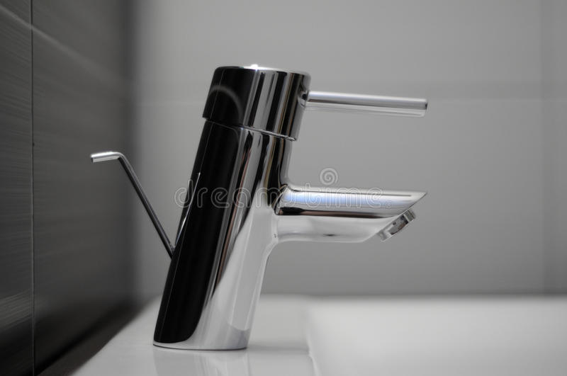 Download Faucet in the bathroom stock photo. Image of handle, copy - 14111850