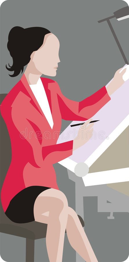 Designer Illustration vector illustration