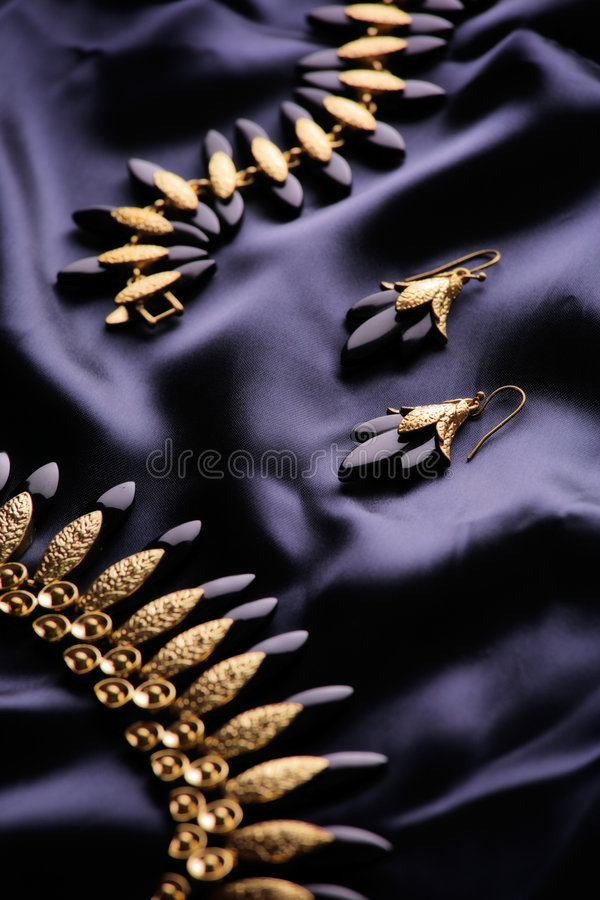 Designer jewelry royalty free stock photography