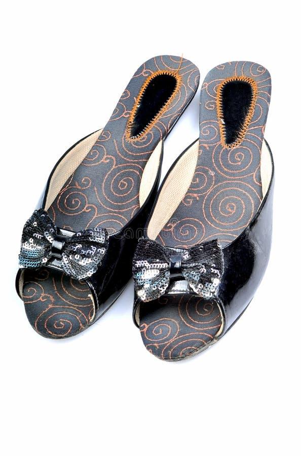 Designer ladies footwear royalty free stock photography