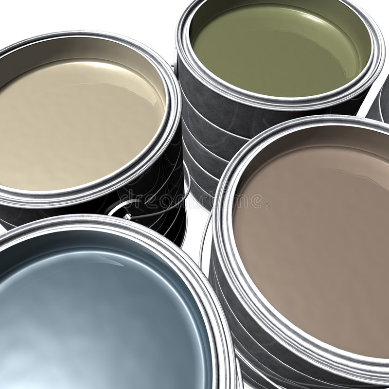 Designer Paint Royalty Free Stock Images