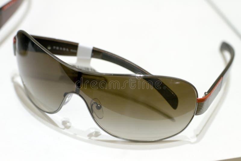 Designer sunglasses on display royalty free stock image