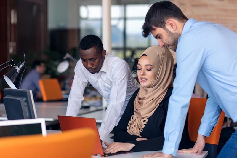 Designer Teamwork Brainstorming Planning Meeting Diversity Concept royalty free stock images