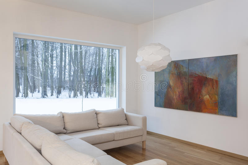 Designers interior - couch stock photo