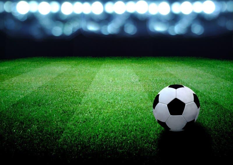 designfältfotboll dig royaltyfria foton