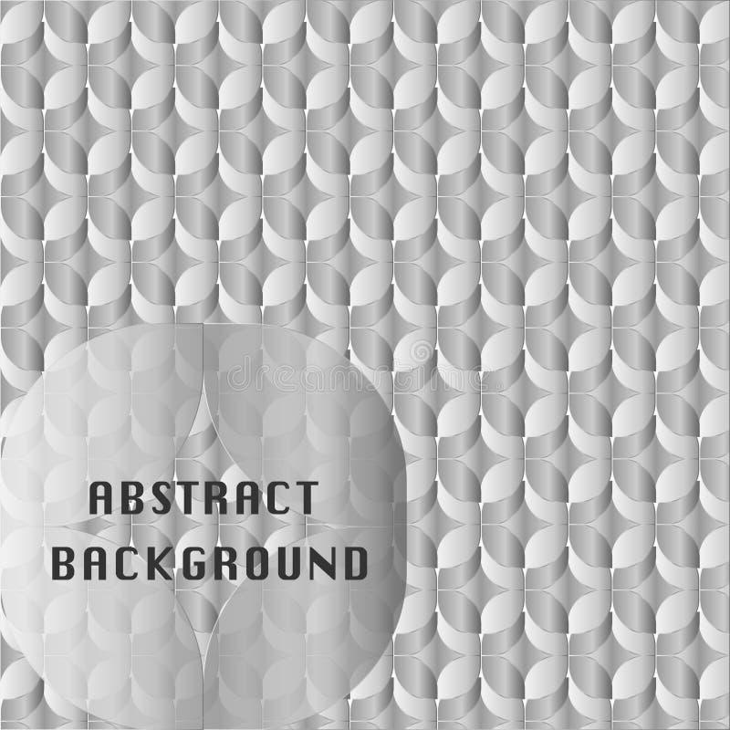 Designfyrkanter överlappade bakgrund royaltyfri foto