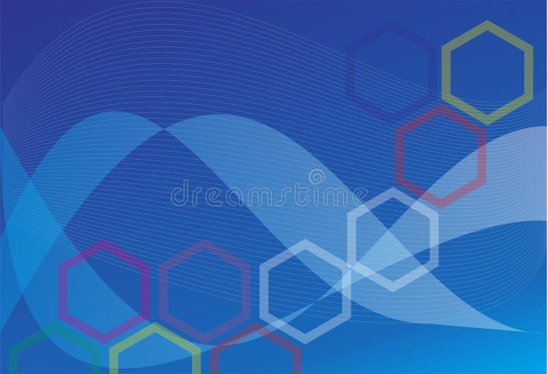 Designgeschäft abstrack Kunstkünste des Hintergrundes schwarze blaue stockfoto