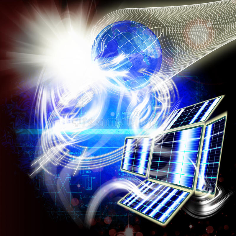 Download Designing Of Engineering Space Technologies Royalty Free Stock Image - Image: 22282466