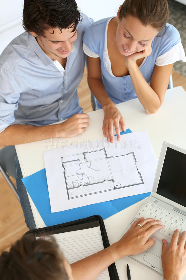 Designing our house royalty free stock images