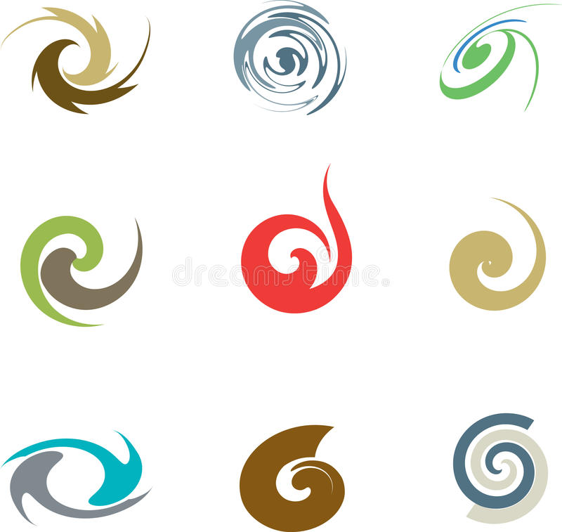 designlogo stock illustrationer