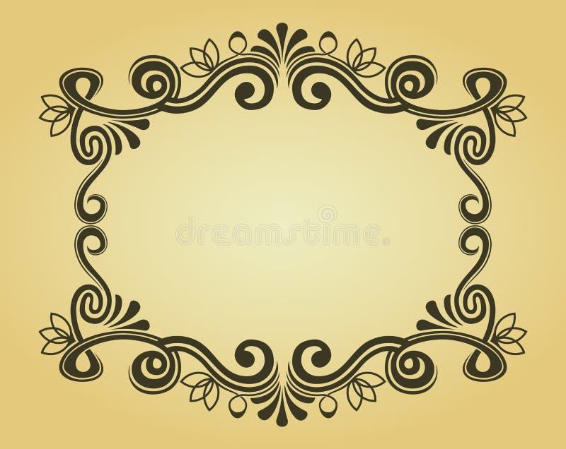 designramtappning royaltyfri illustrationer