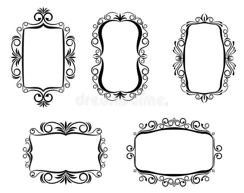 designramtappning stock illustrationer