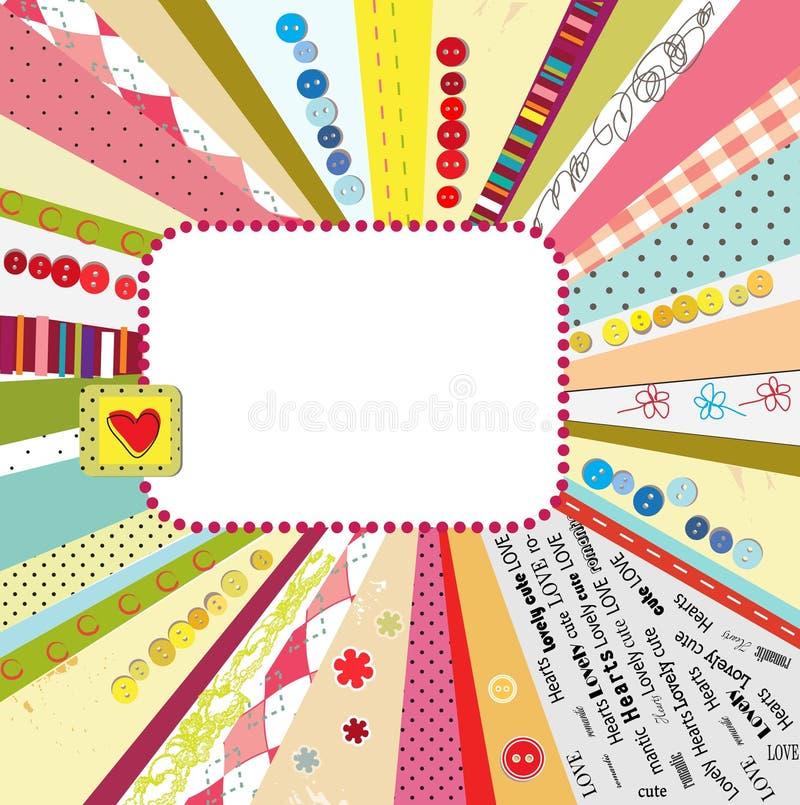 designrestmall royaltyfri illustrationer