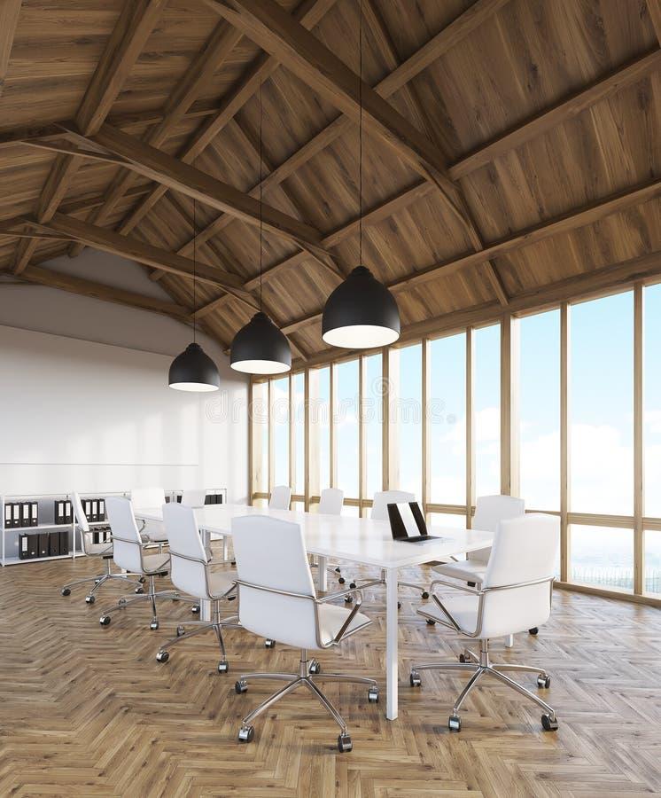 Designstudio i loft vektor illustrationer