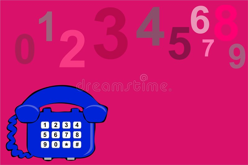 Download Designtelefon stock illustrationer. Illustration av dagligt - 284424