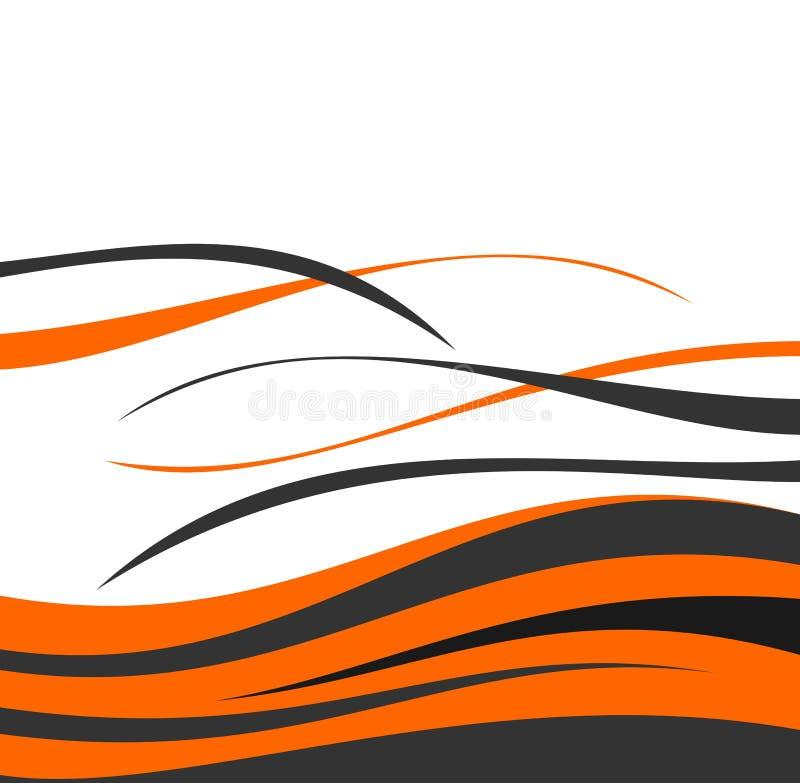 designwave royaltyfri illustrationer
