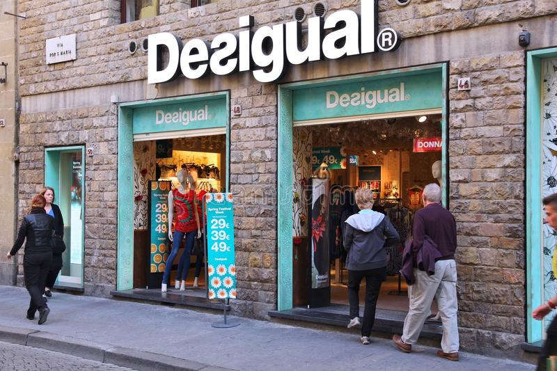 Desigual clothes store editorial stock image image of for Dream store firenze