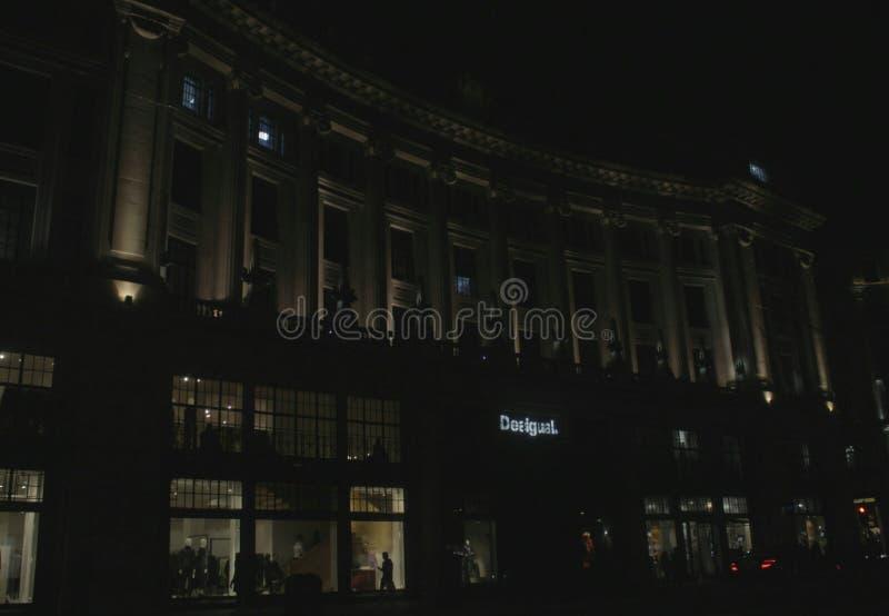 Desigual Londra fotografia stock