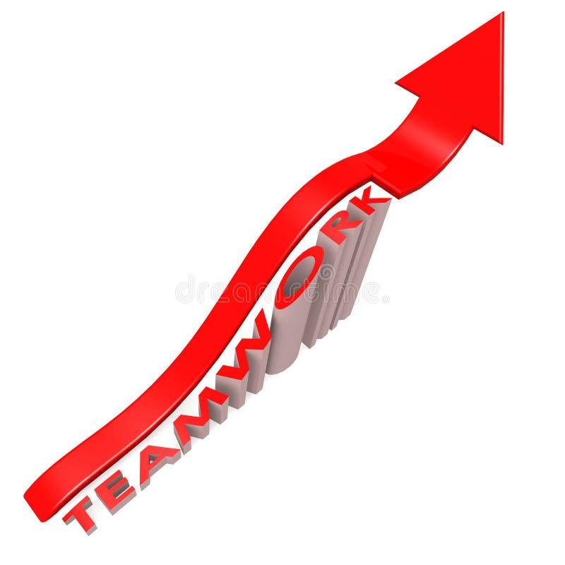 Desihgn концепции сыгранности arrow иллюстрация штока