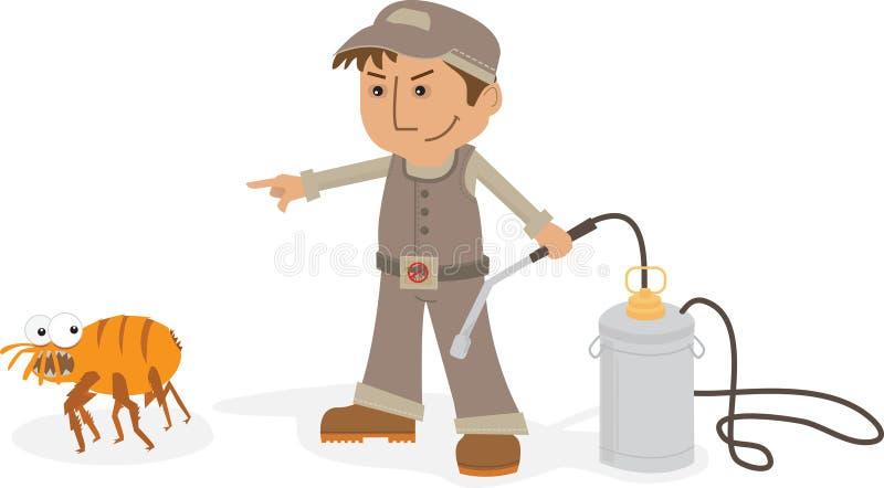 Desinfektör stock illustrationer