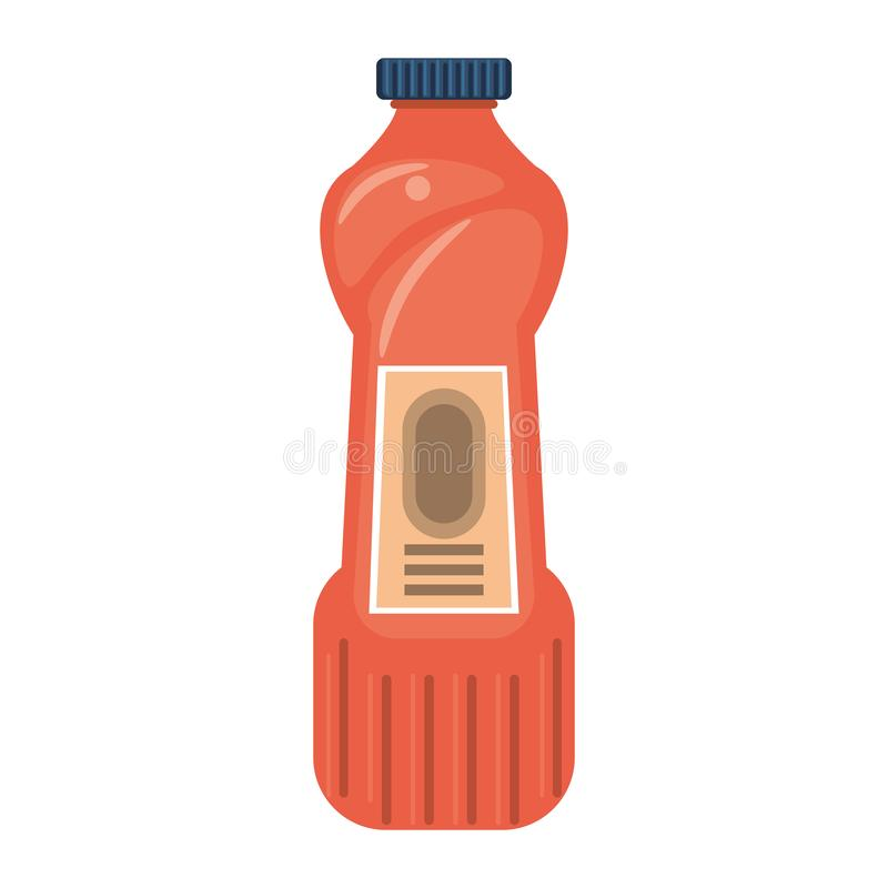 Desinfektionsmedeltvålflaskor med utmatare isoalted symbol stock illustrationer