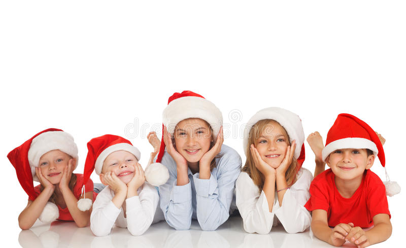 Desires for Christmas stock images