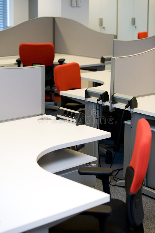 Desk. A desk in a office royalty free stock photography
