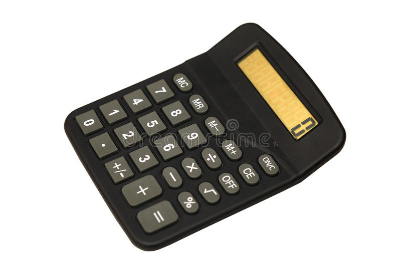 Download Desk Calculator stock photo. Image of keypad, button - 14932344