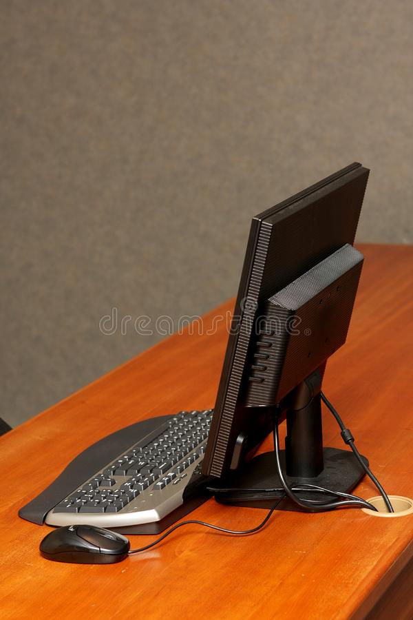 Desk Computer stock images
