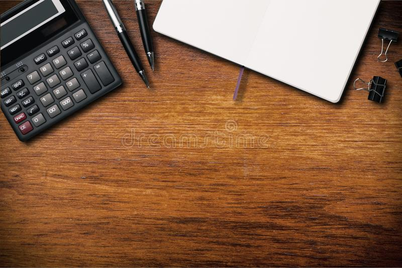 Desk royalty free stock image