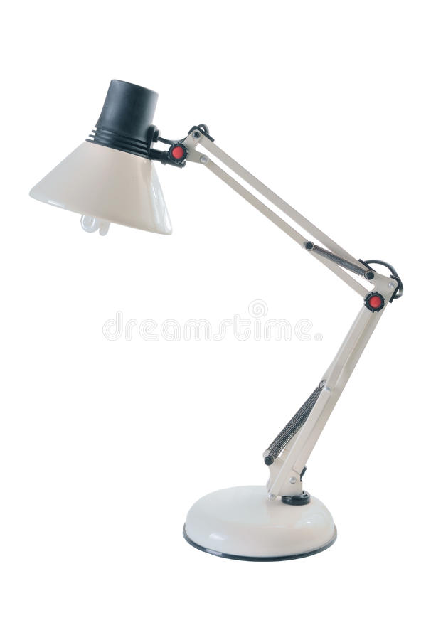 Download Desk Lamp stock photo. Image of electricity, adjustable - 25155660