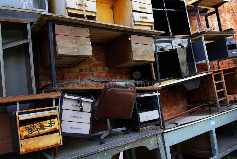 Desk Scrap Royalty Free Stock Photo