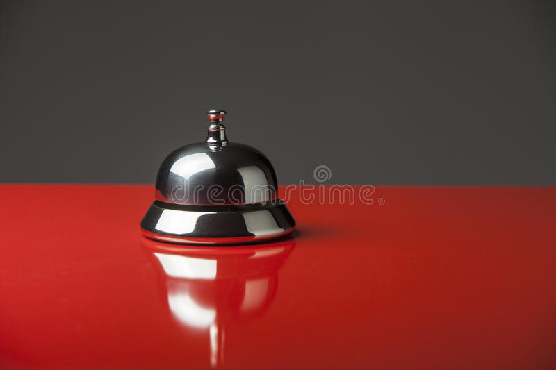 Desk service bell stock images