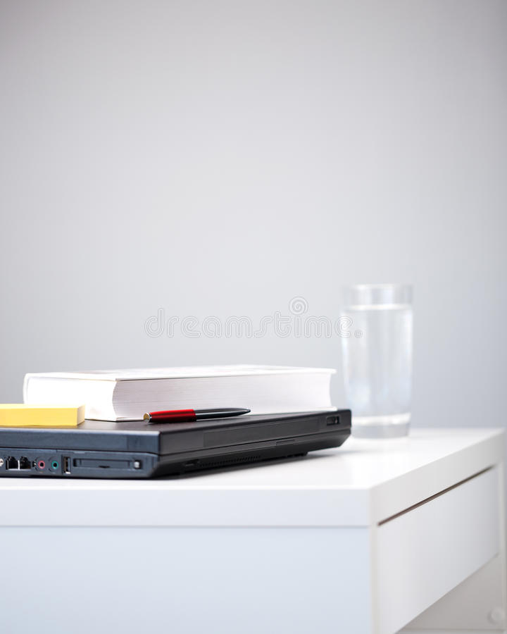 Download Desk Of A Student With Study Items Stock Image - Image: 29310213