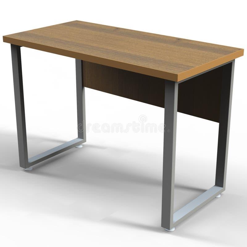 Desk in the style of Loft stock illustration