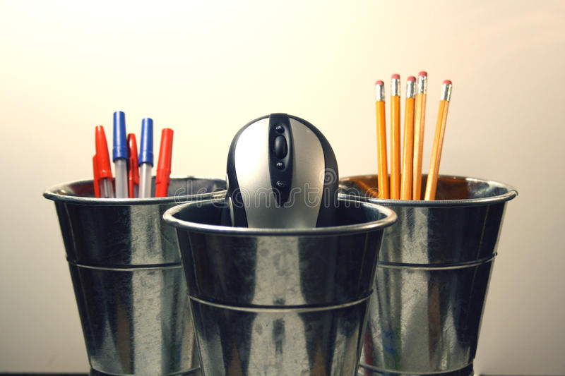 Desk tools royalty free stock image