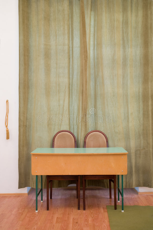 Download Desk On The Wall Stock Images - Image: 8257134