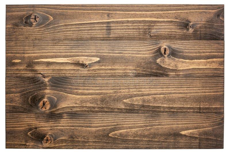 deska odizolowywający szyldowy biały drewniany zdjęcia royalty free