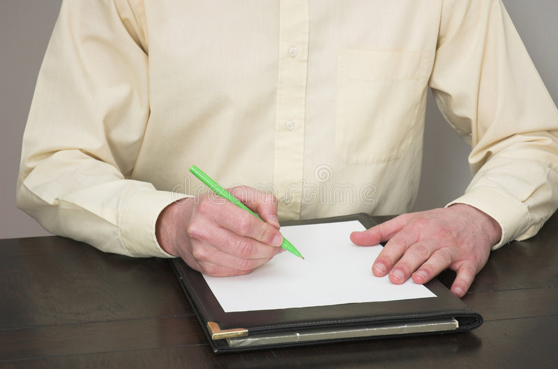 Deskbound foto de archivo libre de regalías