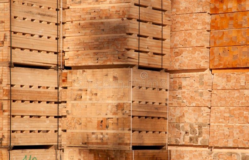 deski brogują drewnianego zdjęcie stock