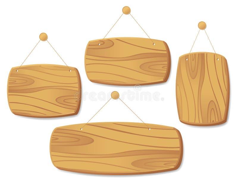 deski cord drewnianego ilustracja wektor