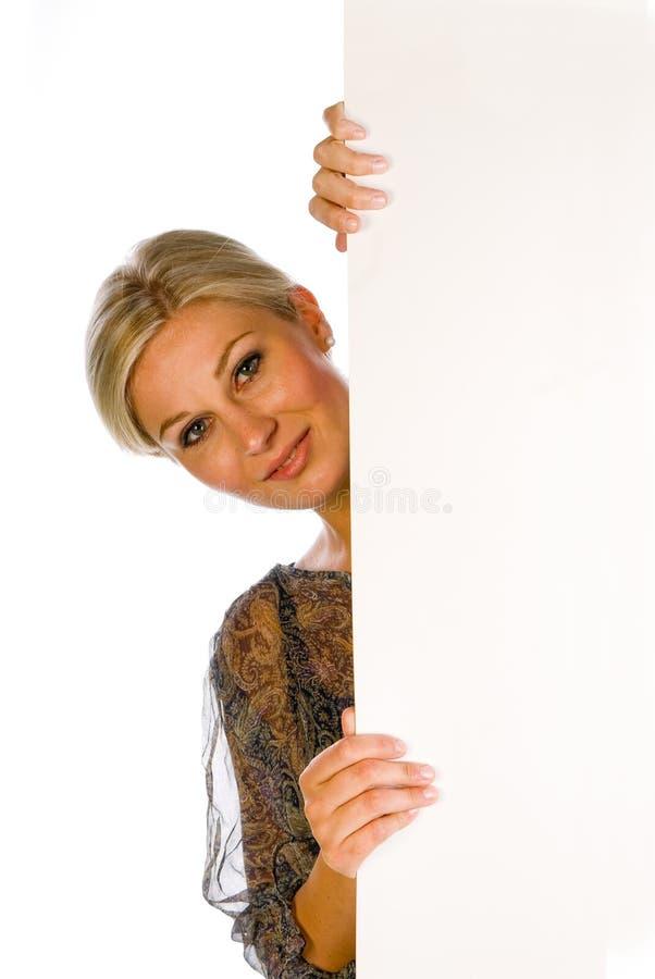 deskowa kobieta zdjęcie stock