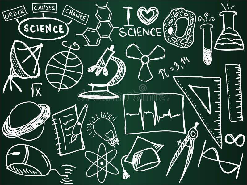 deskowa szkolna nauka ilustracja wektor