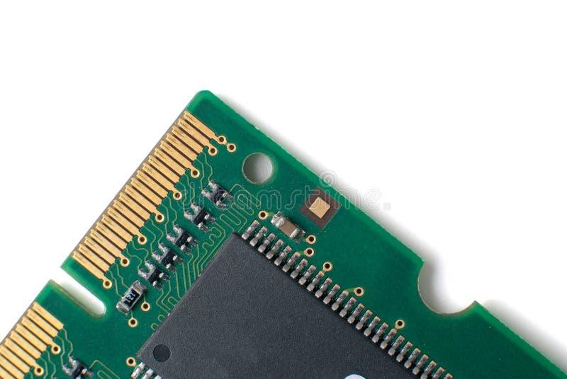deskowa układ scalony obwodu szczegółu pamięć obraz stock