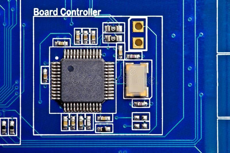 deskowego obwodu komputerowy kontroler elektroniczny fotografia royalty free