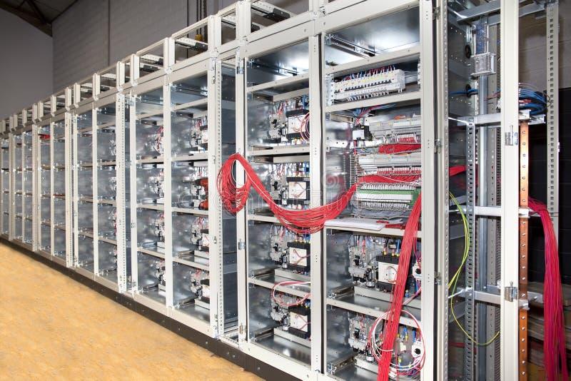 deskowej budowy elektryczny panel obraz royalty free