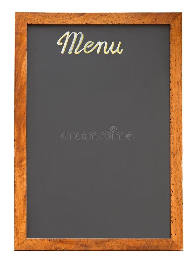 deskowej pusty wycinanki menu fotografia royalty free