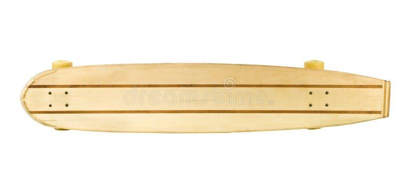 deskowej strony łyżwy odgórny drewniany zdjęcie royalty free
