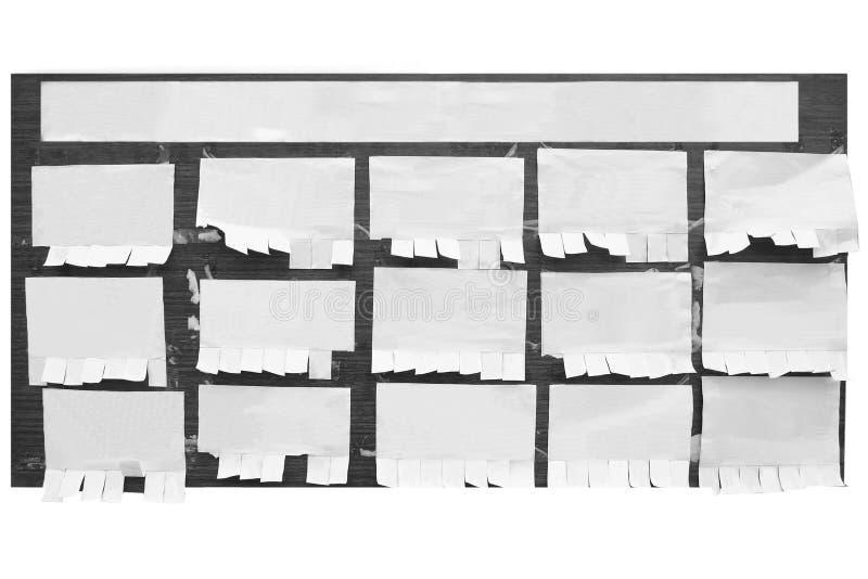 deskowy biuletyn zdjęcia stock